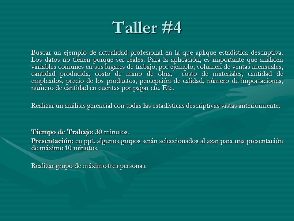 Taller #4