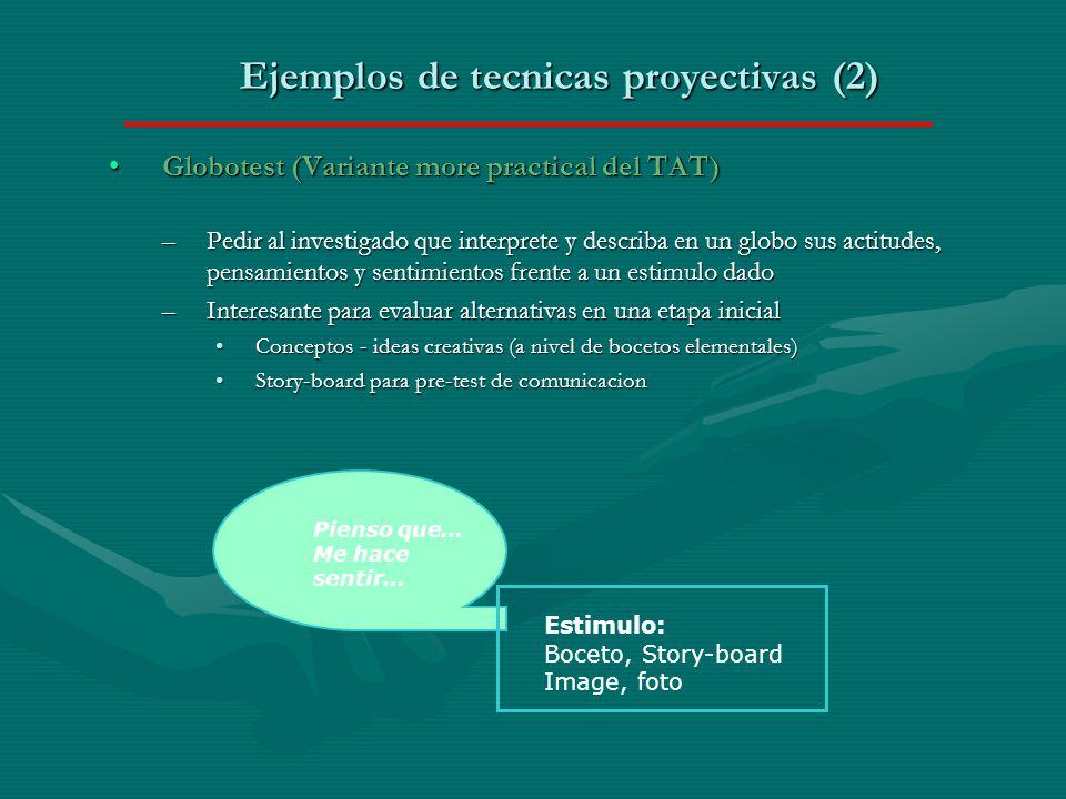 Ejemplos de tecnicas proyectivas (2)