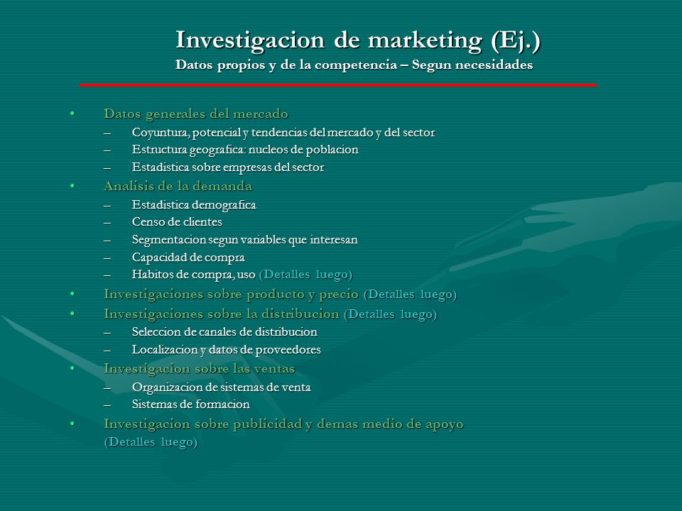 Investigacion de marketing (Ej