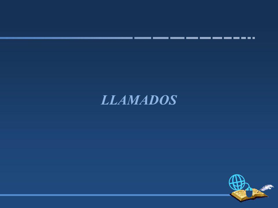 LLAMADOS