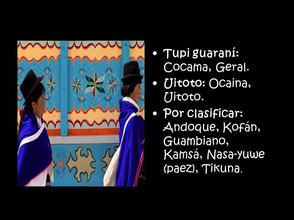 Tupi guaraní: Cocama, Geral.