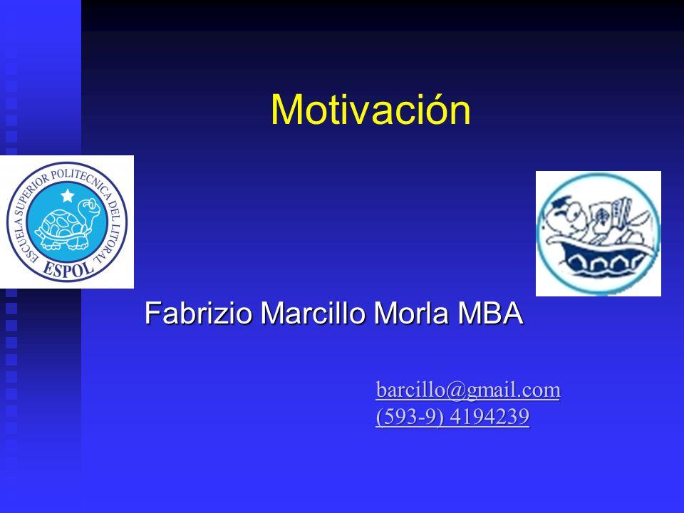 Fabrizio Marcillo Morla MBA