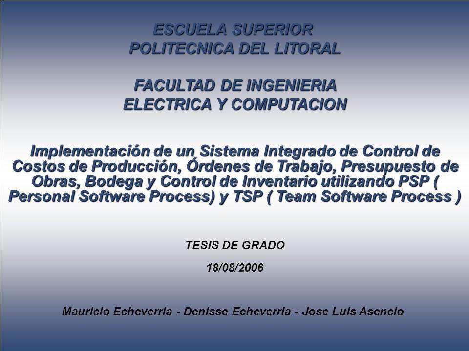 POLITECNICA DEL LITORAL FACULTAD DE INGENIERIA ELECTRICA Y COMPUTACION