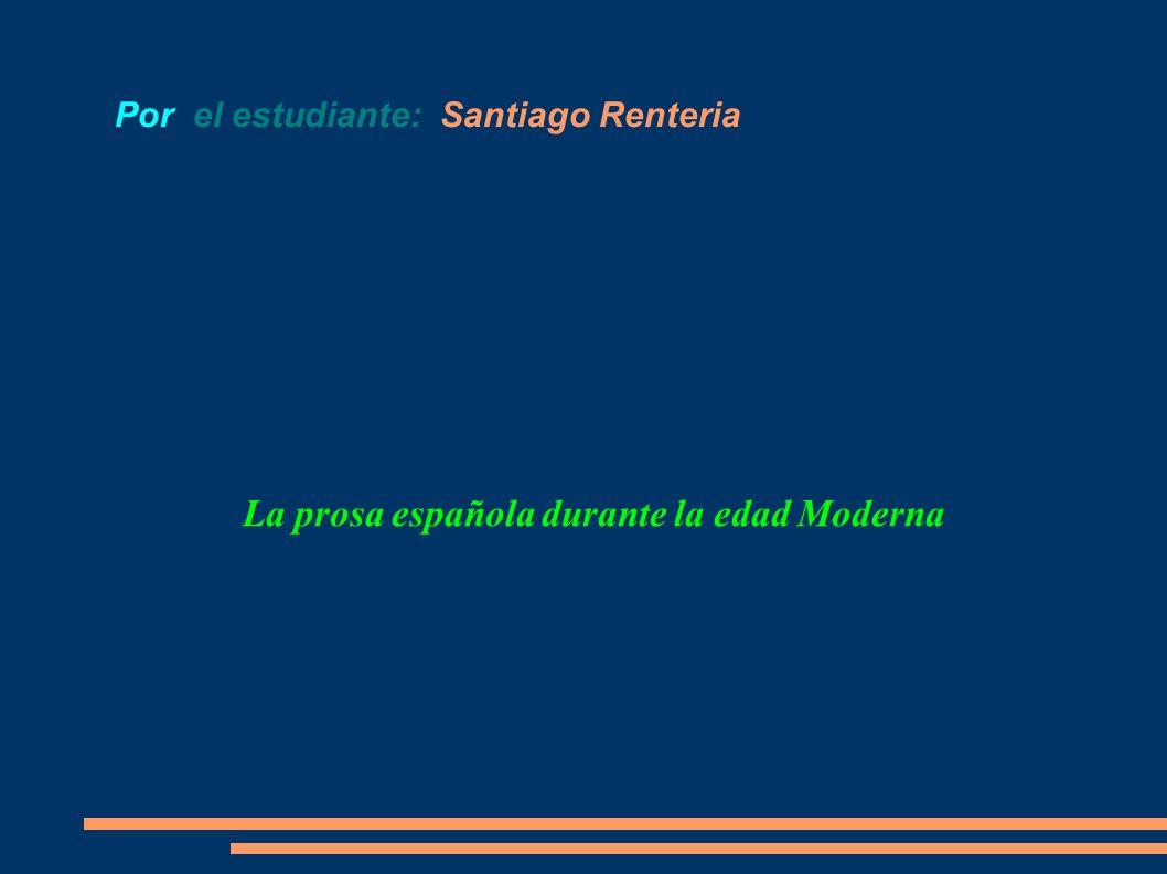 Por el estudiante: Santiago Renteria