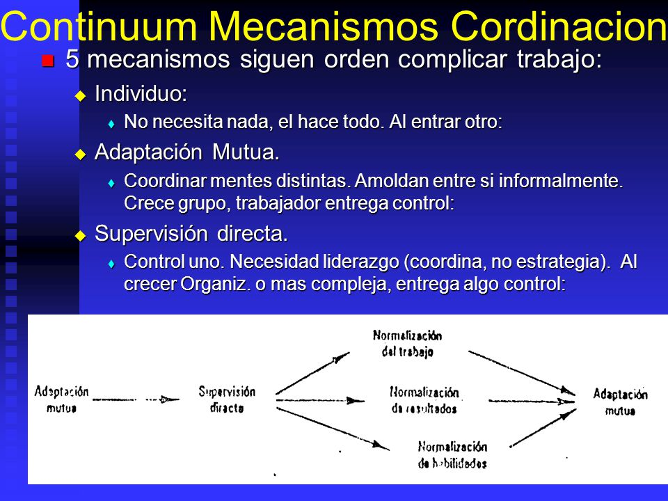 Continuum Mecanismos Cordinacion