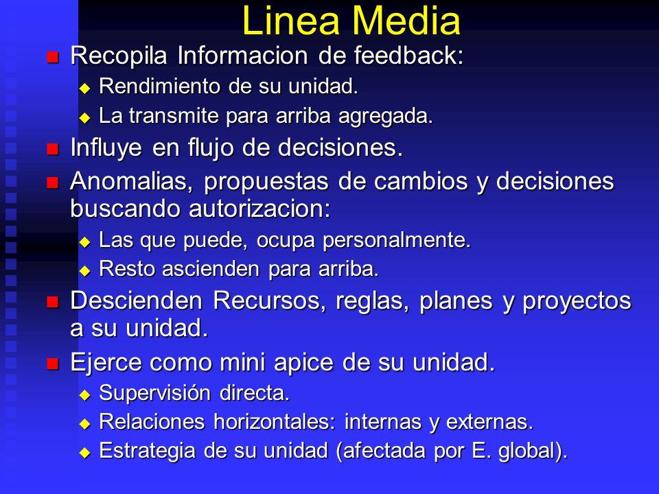 Linea Media Recopila Informacion de feedback: