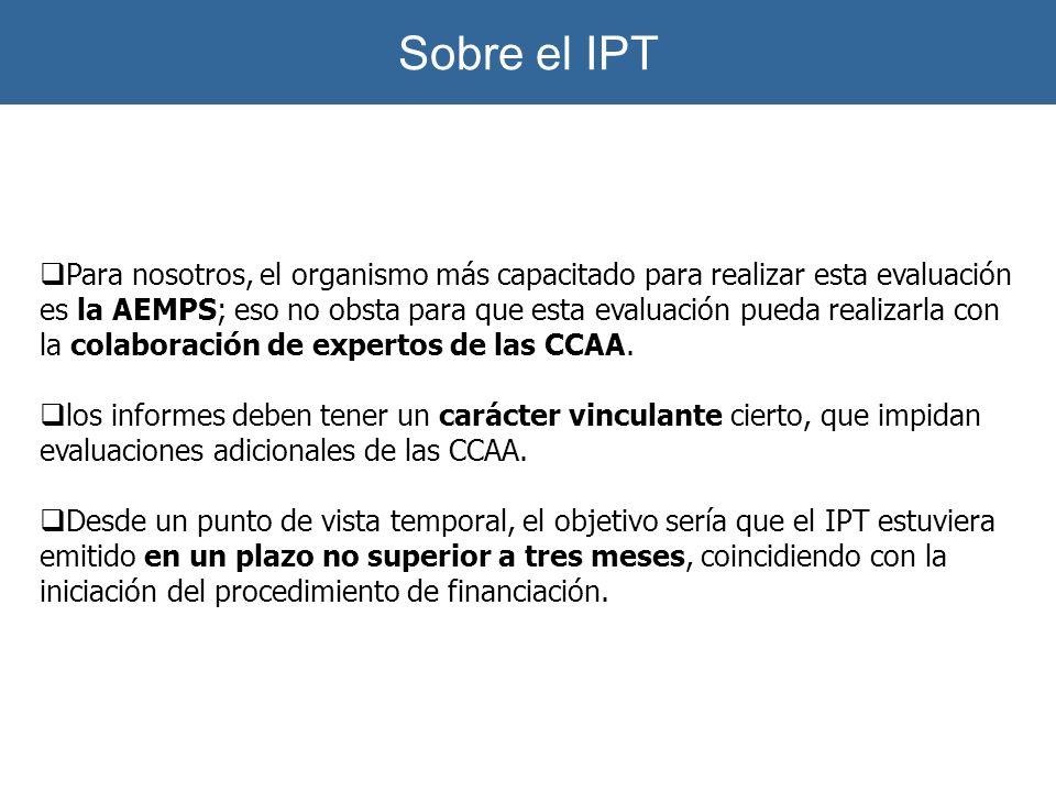 Sobre el IPT