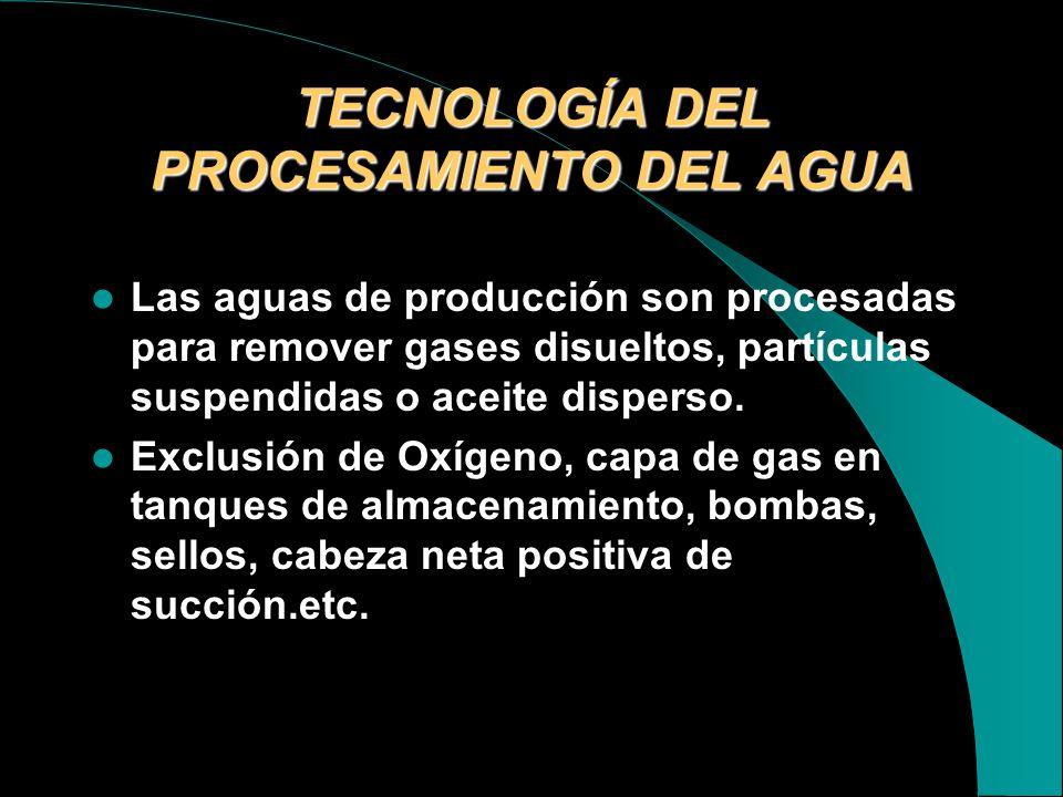 TECNOLOGÍA DEL PROCESAMIENTO DEL AGUA