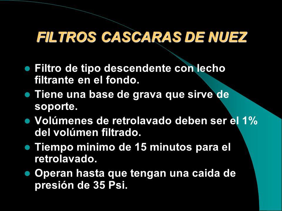FILTROS CASCARAS DE NUEZ