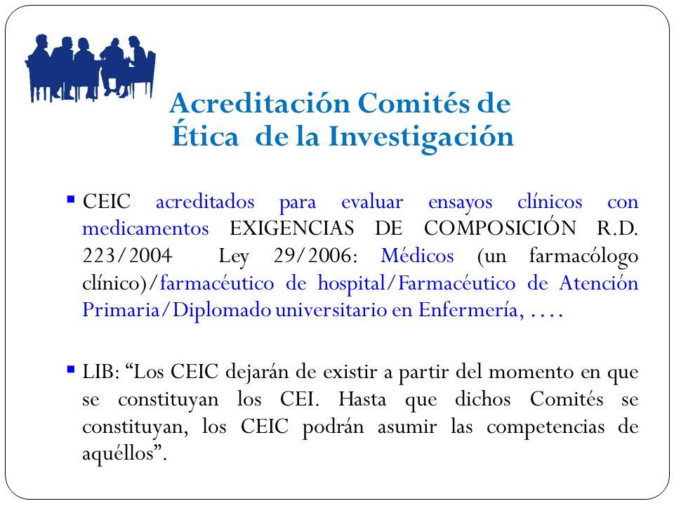 Acreditación Comités de Ética de la Investigación