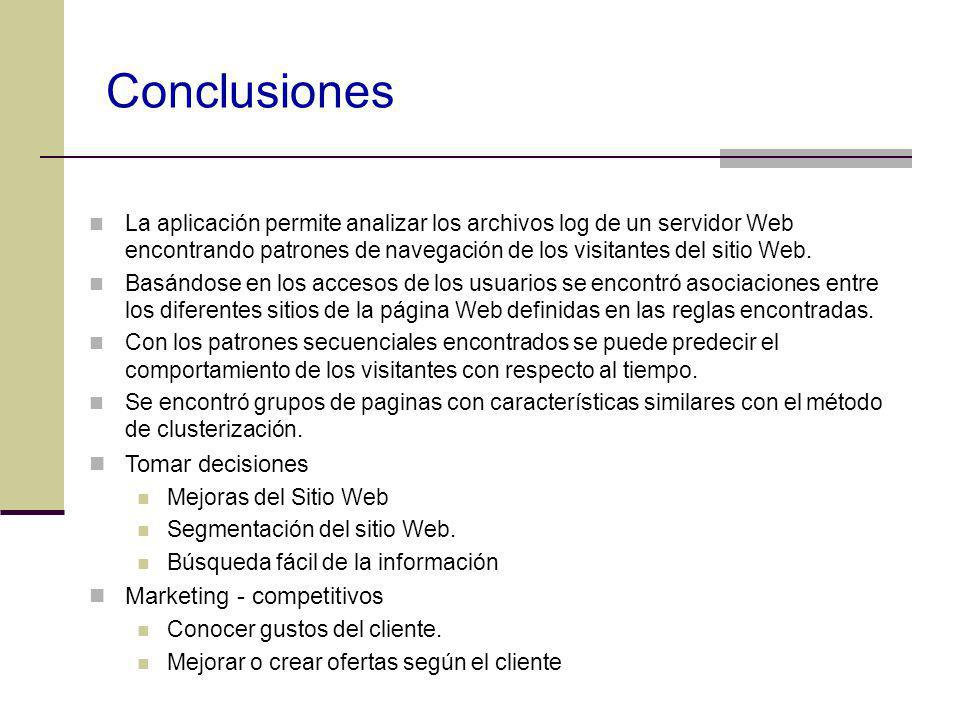 Conclusiones Tomar decisiones Marketing - competitivos