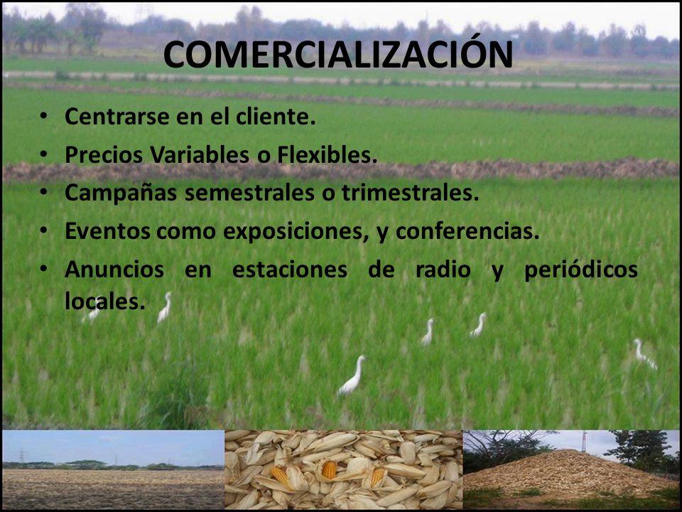 COMERCIALIZACIÓN Centrarse en el cliente.