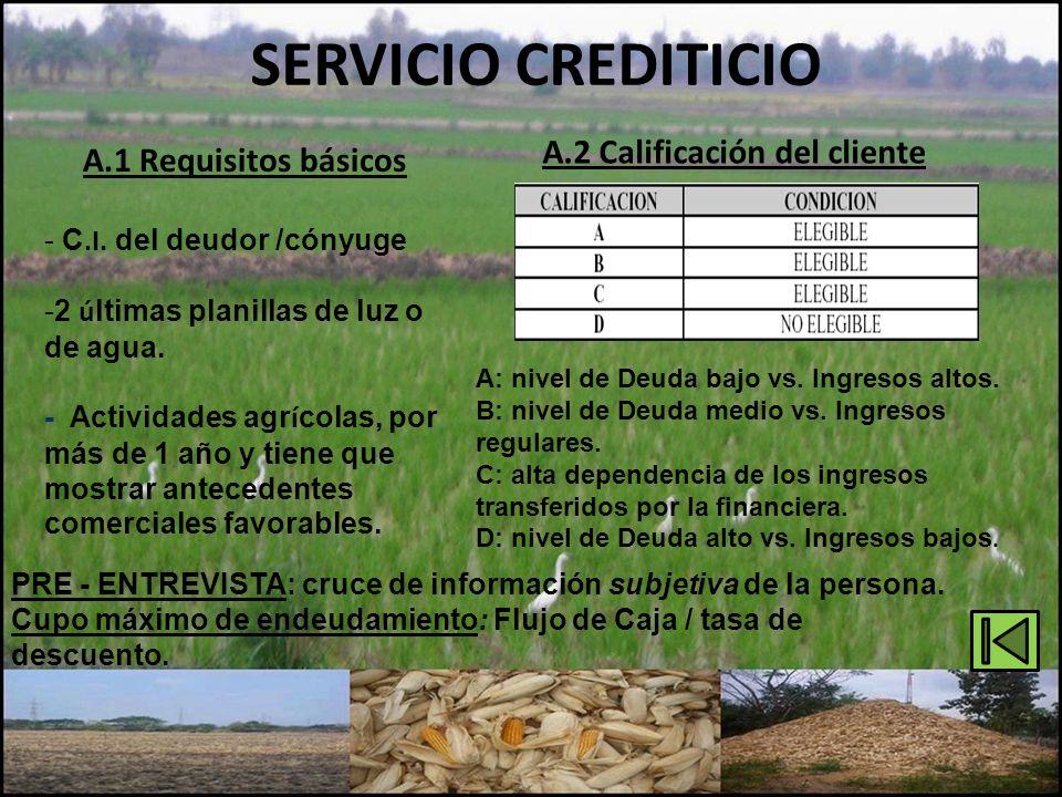 A.2 Calificación del cliente