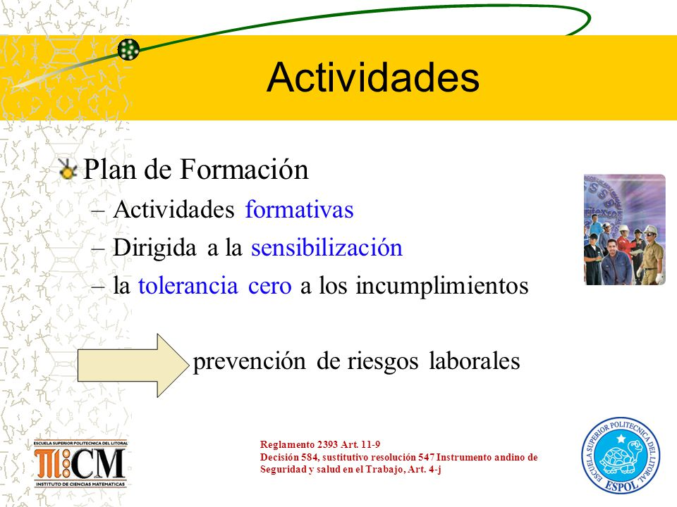 Actividades Plan de Formación Actividades formativas
