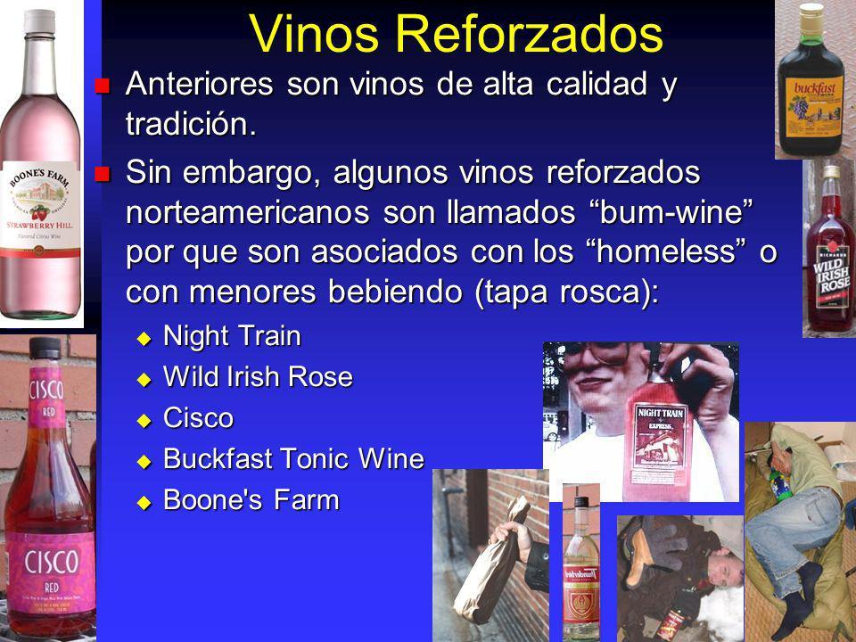 Vinos Reforzados Anteriores son vinos de alta calidad y tradición.