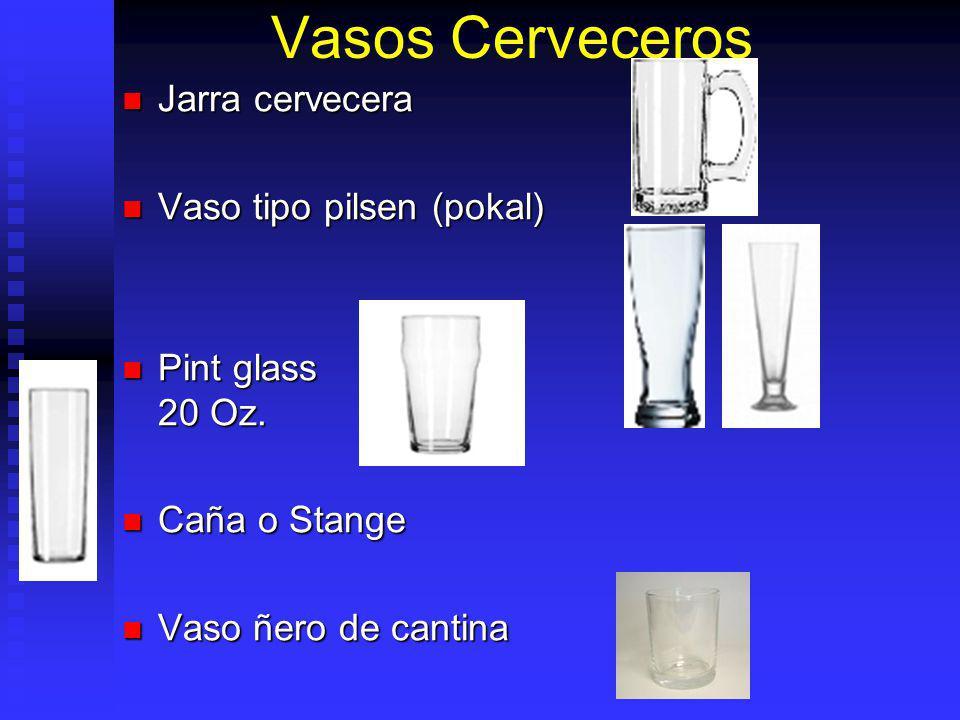 Vasos Cerveceros Jarra cervecera Vaso tipo pilsen (pokal)