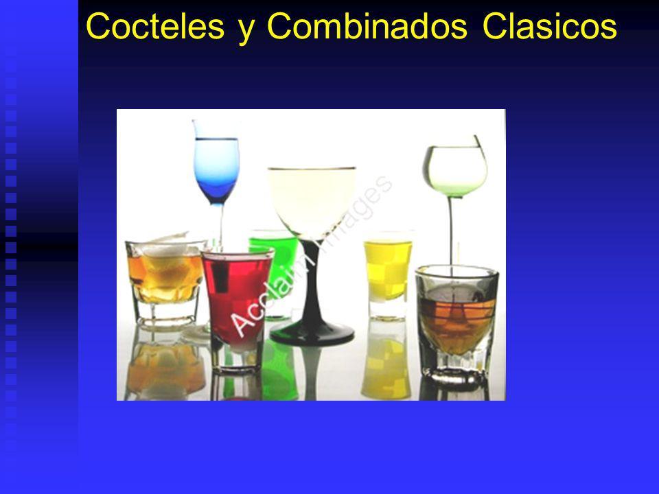 Cocteles y Combinados Clasicos