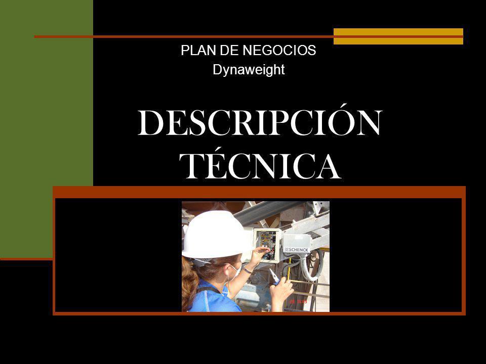 PLAN DE NEGOCIOS Dynaweight DESCRIPCIÓN TÉCNICA