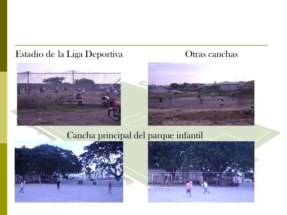 Estadio de la Liga Deportiva Otras canchas