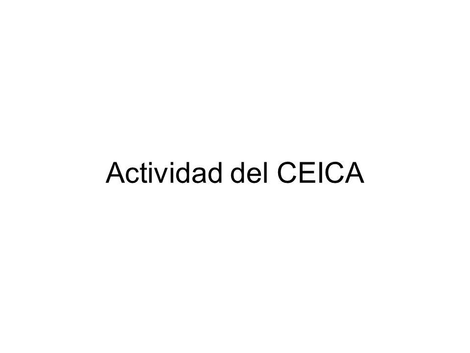 Actividad del CEICA