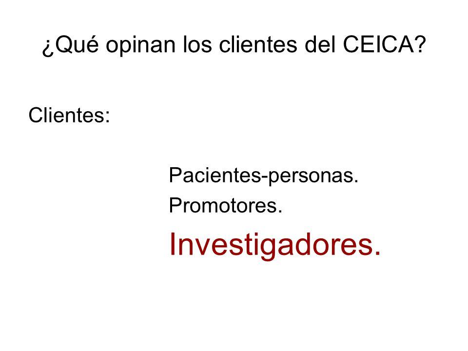 ¿Qué opinan los clientes del CEICA