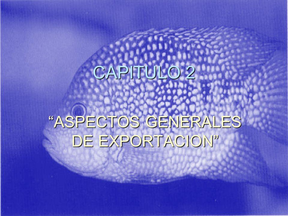 ASPECTOS GENERALES DE EXPORTACION