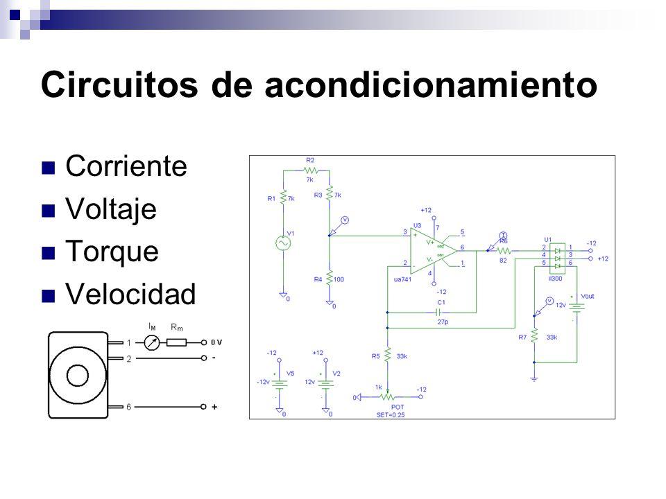 Circuitos de acondicionamiento