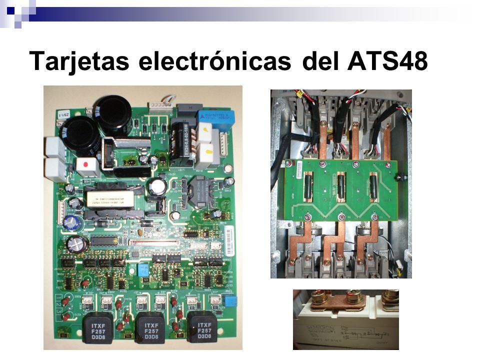Tarjetas electrónicas del ATS48
