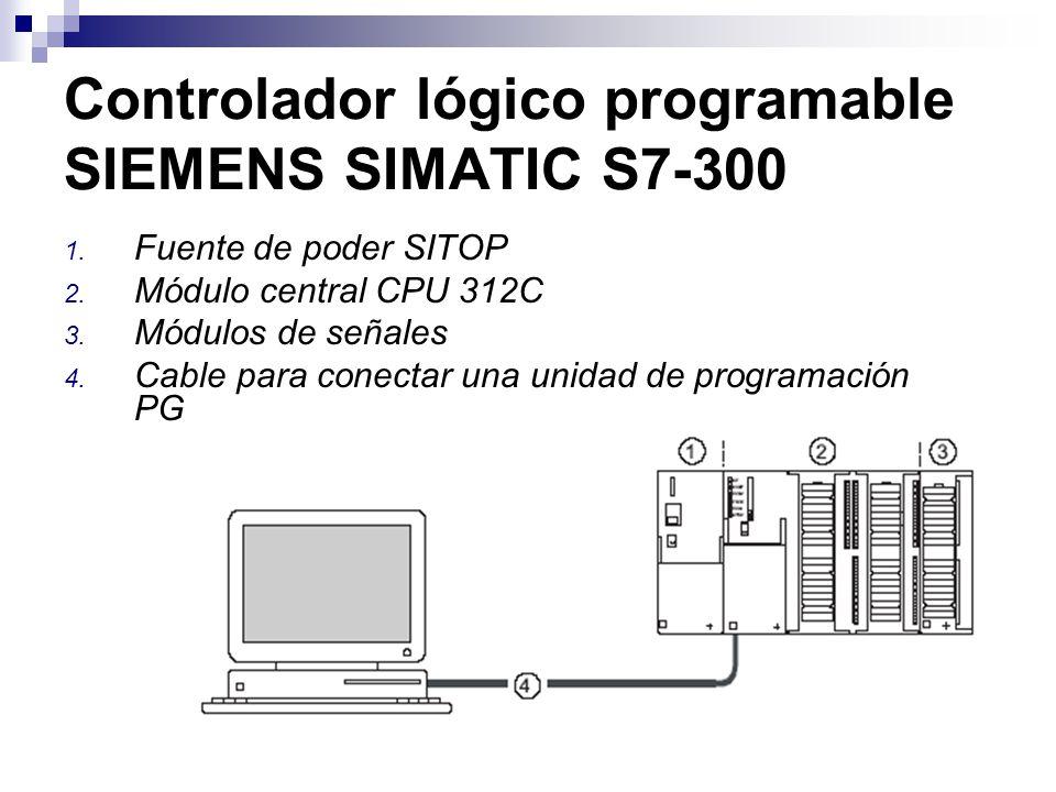 Controlador lógico programable SIEMENS SIMATIC S7-300