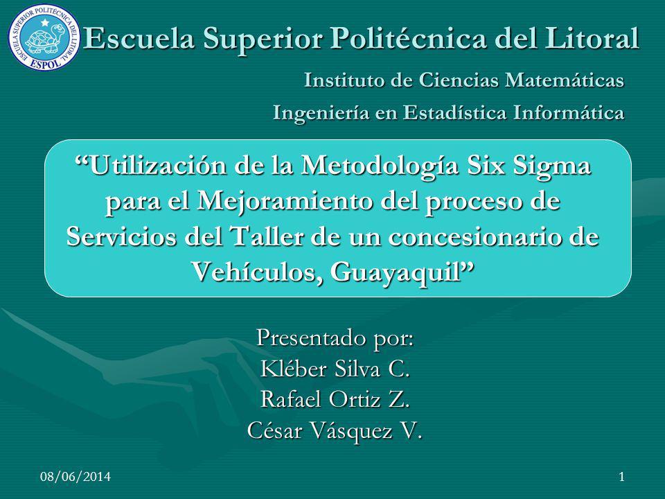Presentado por: Kléber Silva C. Rafael Ortiz Z. César Vásquez V.