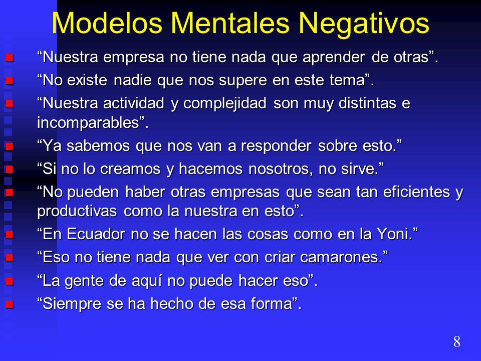 Modelos Mentales Negativos
