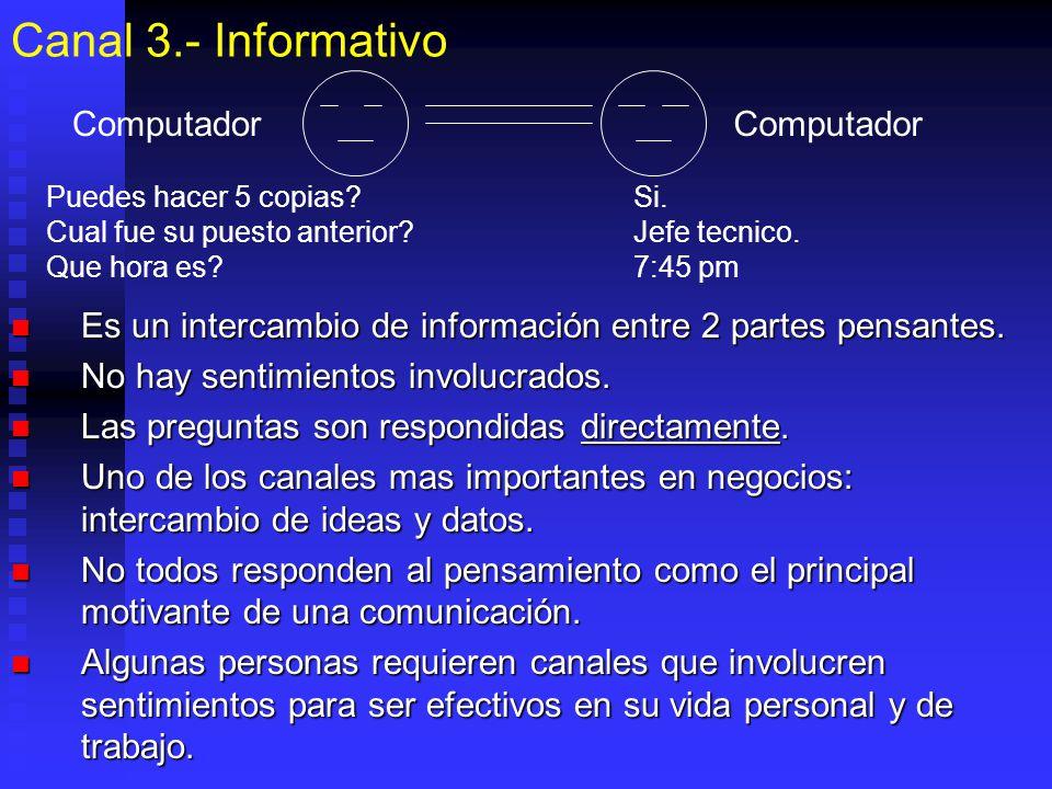 Canal 3.- Informativo Computador Computador