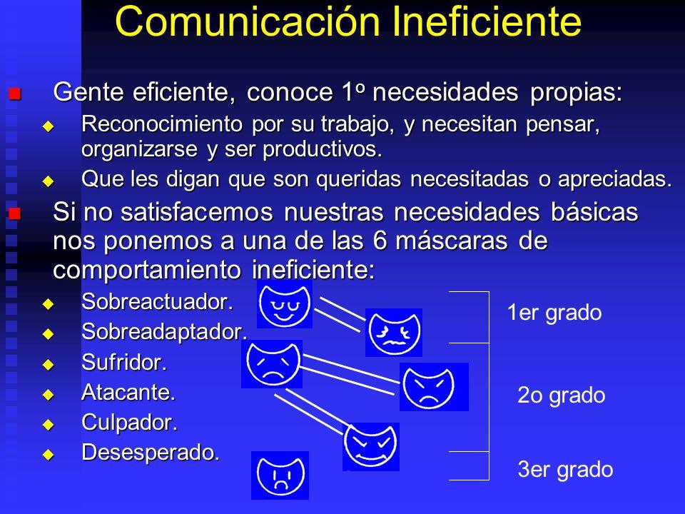 Comunicación Ineficiente