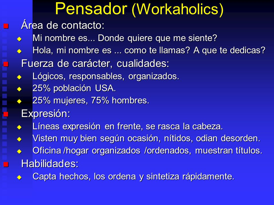 Pensador (Workaholics)