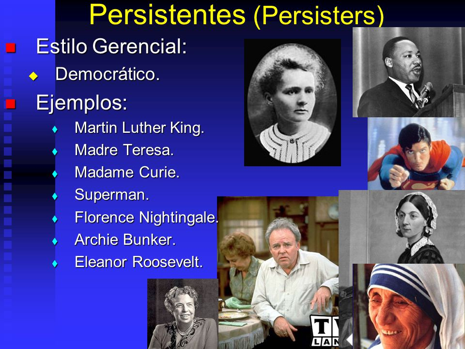 Persistentes (Persisters)