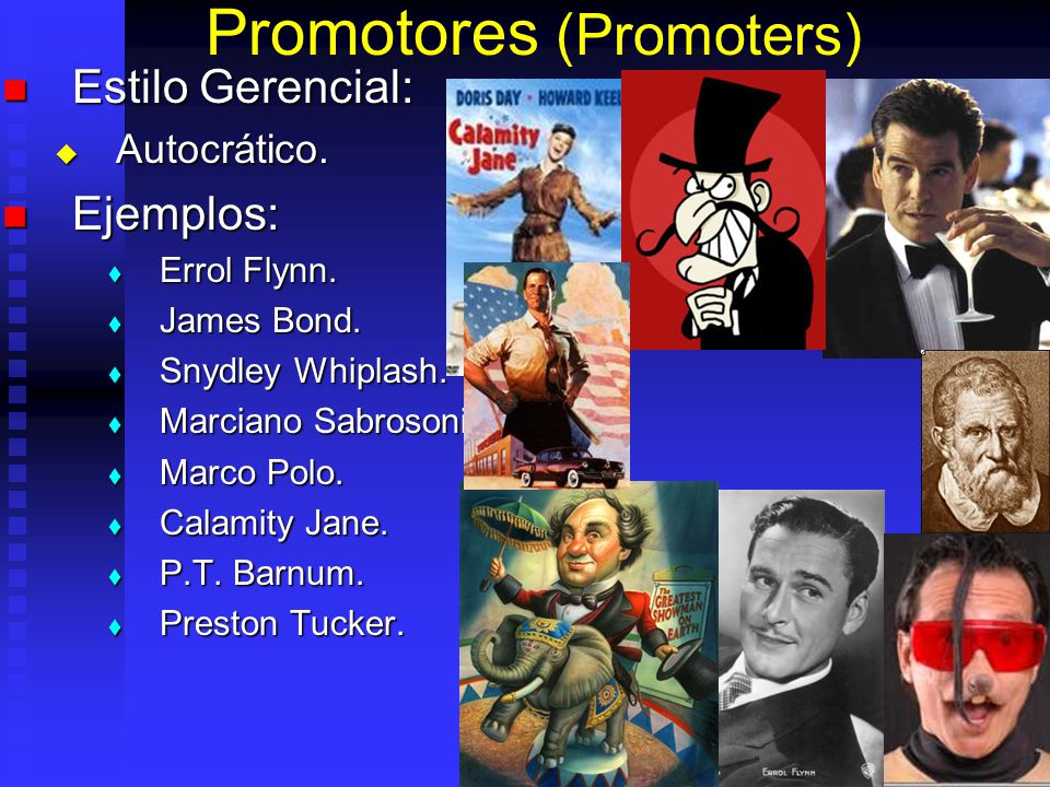 Promotores (Promoters)