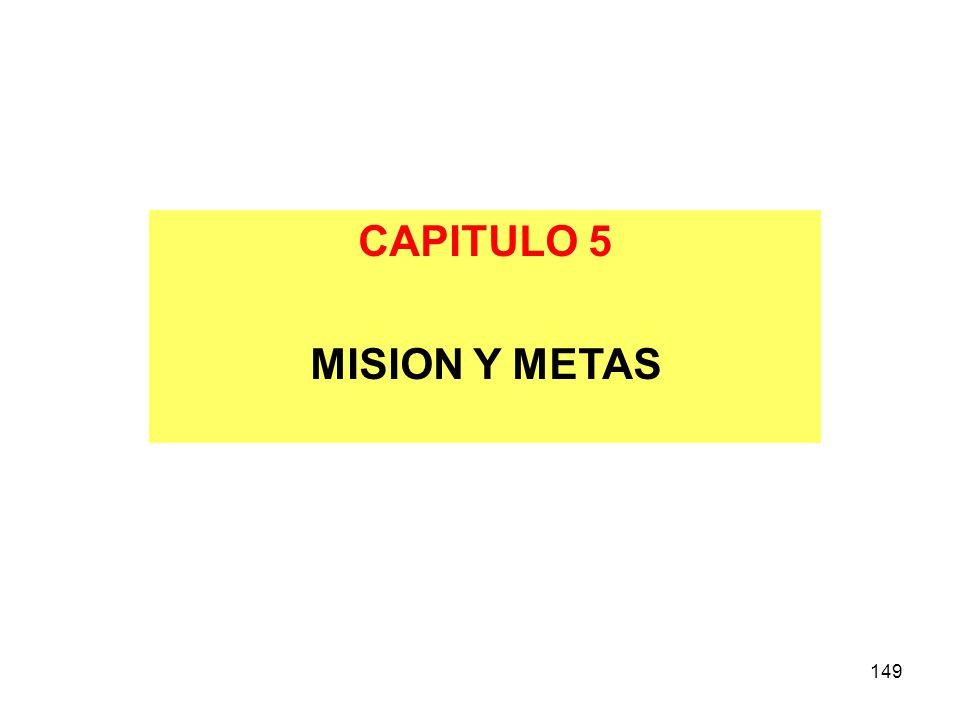 CAPITULO 5 MISION Y METAS 149