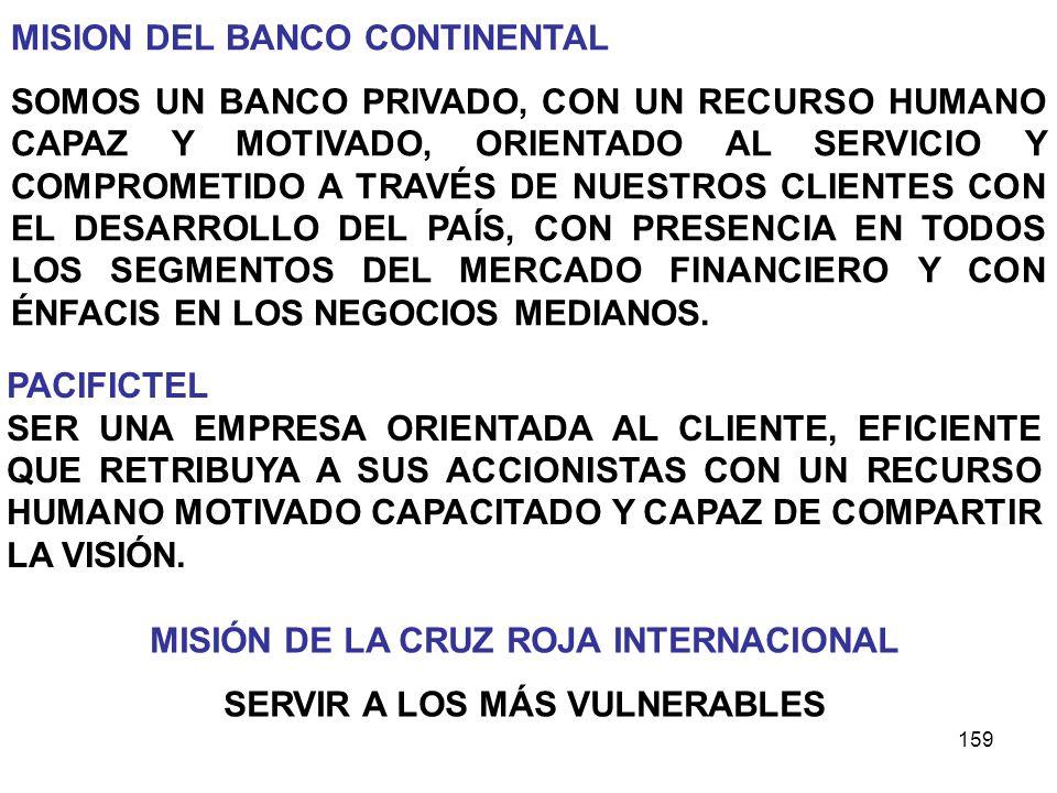 MISIÓN DE LA CRUZ ROJA INTERNACIONAL SERVIR A LOS MÁS VULNERABLES