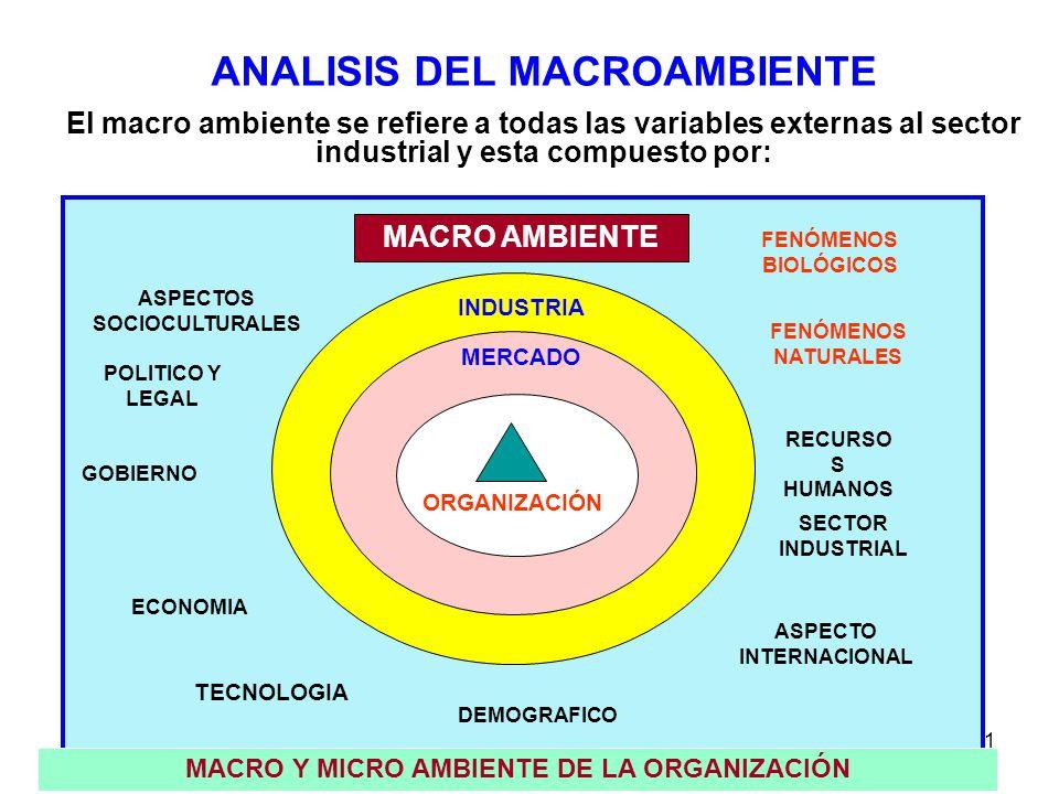 ANALISIS DEL MACROAMBIENTE