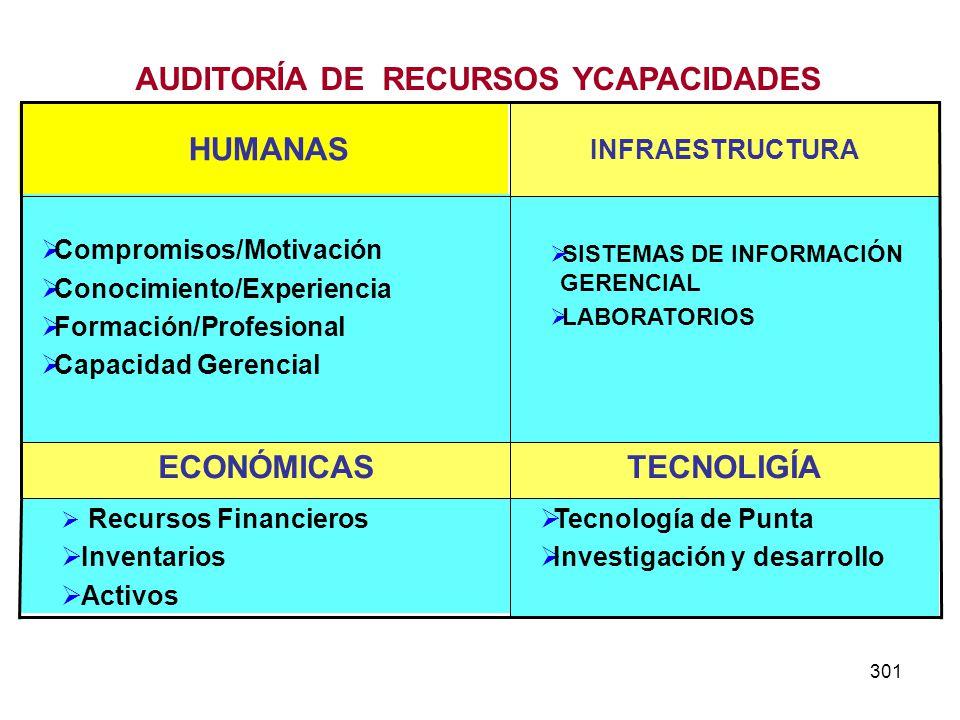 AUDITORÍA DE RECURSOS YCAPACIDADES
