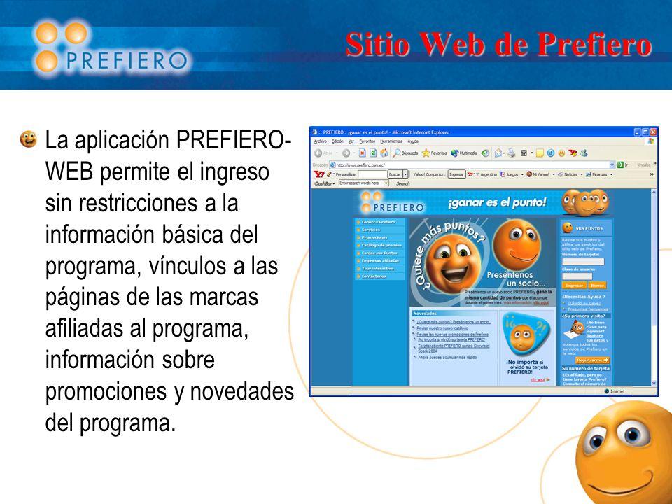Sitio Web de Prefiero