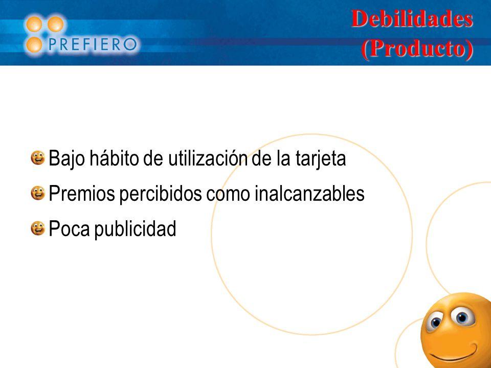Debilidades (Producto)