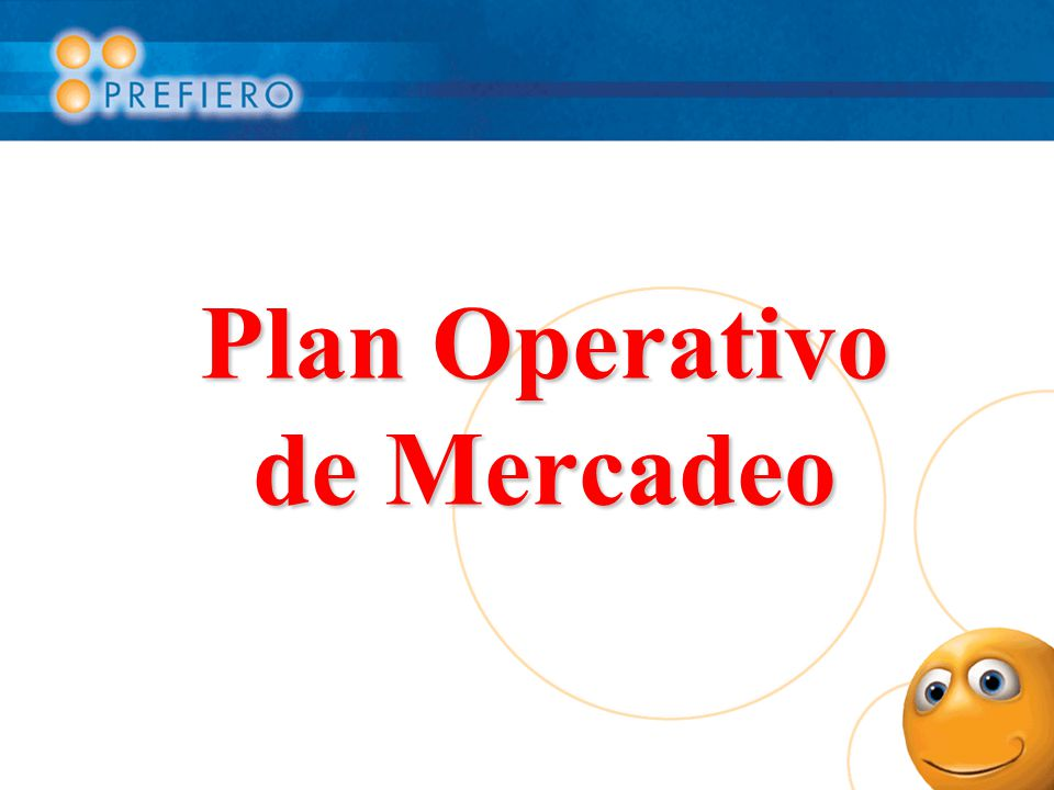Plan Operativo de Mercadeo