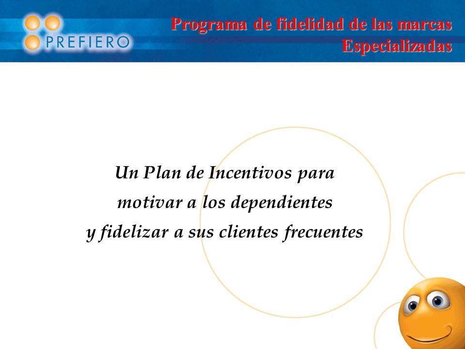 Programa de fidelidad de las marcas Especializadas