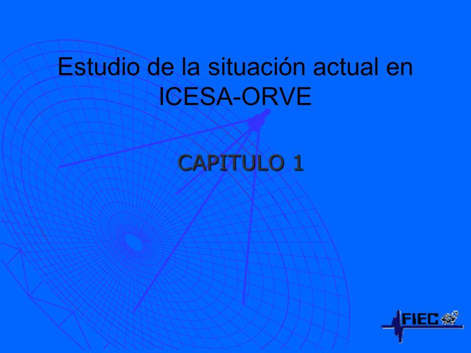 Estudio de la situación actual en ICESA-ORVE