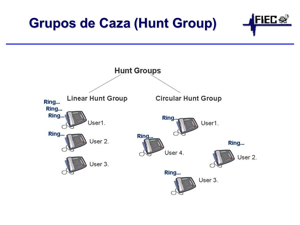 Grupos de Caza (Hunt Group)