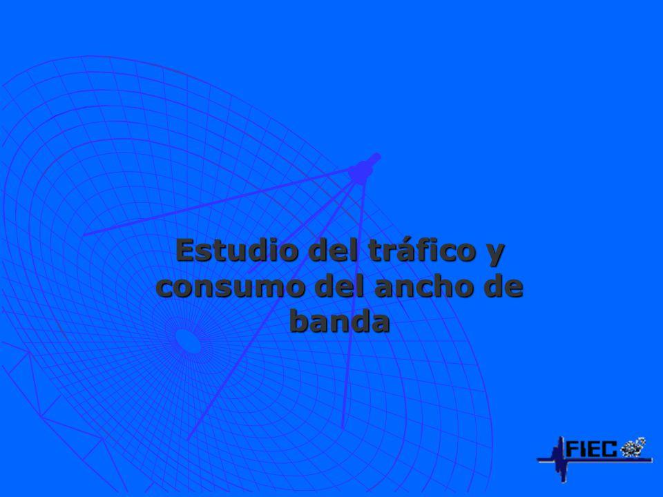 Estudio del tráfico y consumo del ancho de banda