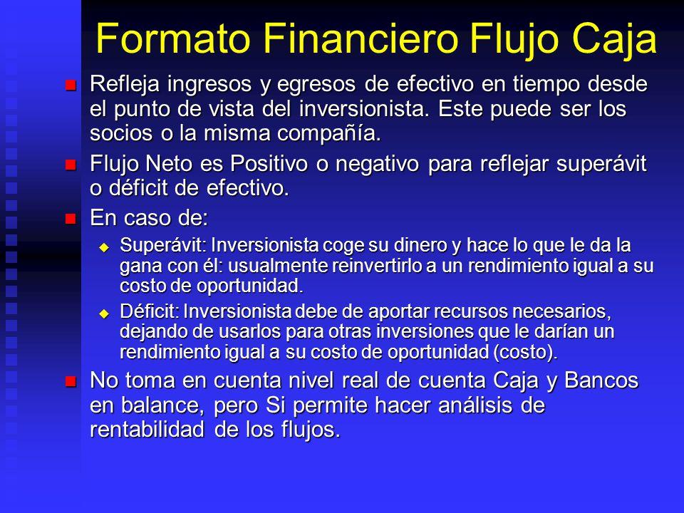 Formato Financiero Flujo Caja