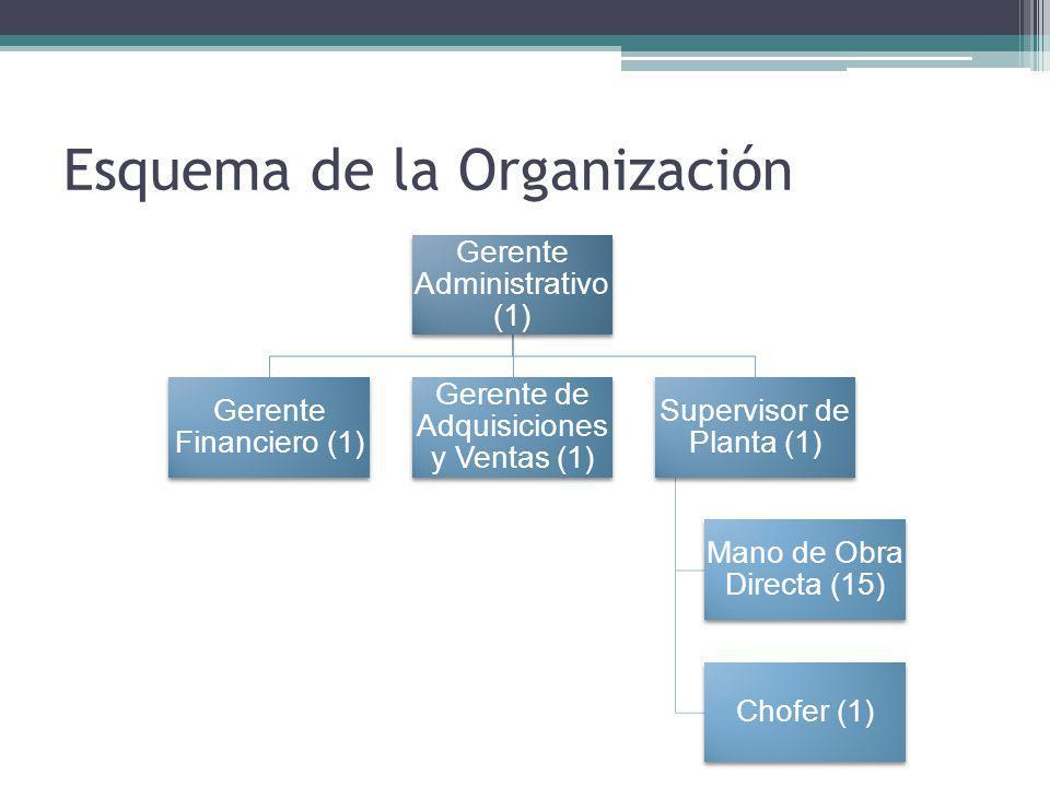 Esquema de la Organización