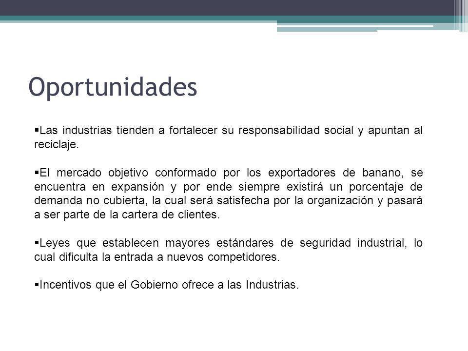 Oportunidades Las industrias tienden a fortalecer su responsabilidad social y apuntan al reciclaje.